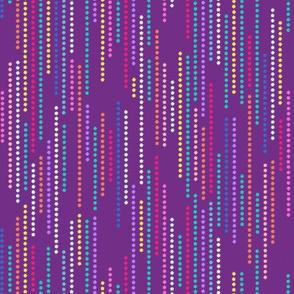 starry stripes purple
