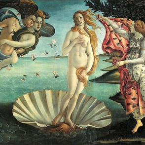 """14"""" La Nascita di Venere Botticelli"""