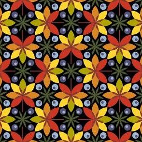 circle leaf berry 4gX - dark