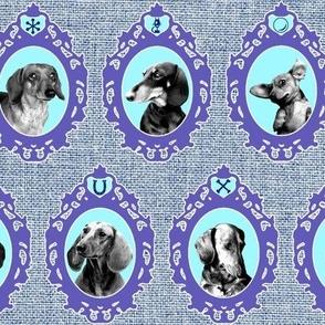dachshund cameos