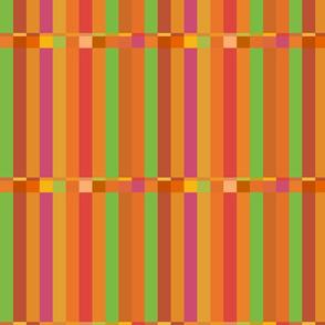 Summer Colors Broken Stripe