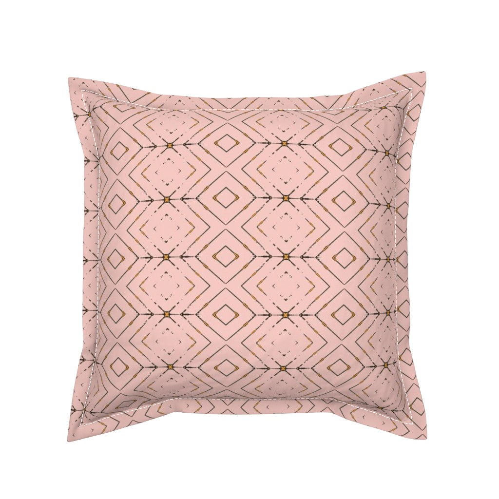 Serama Throw Pillow featuring Arrow: rosie by miamaria