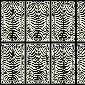 zebra tufted rug print carpet