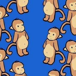 Brighter Plain-Belly Monkeys