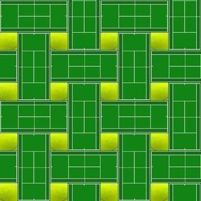 Tennis Court Plaid