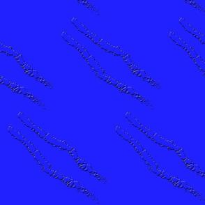 Blue Scratch Tracks