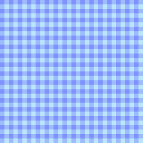 Carolina blue gingham
