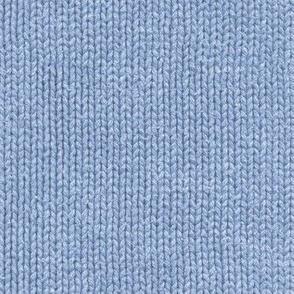 frosty blue knit