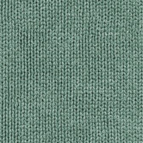 faded green knit