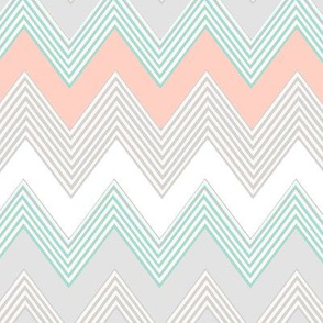 Blush Chevron