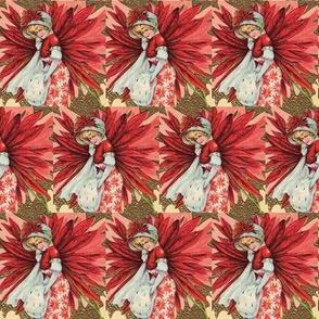 Poinsettia Lady