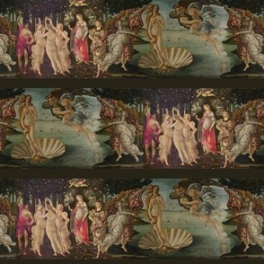 Botticelli Birth of Venus and Primavera With Stripes ~ Small