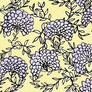 Purple Flowering Vines