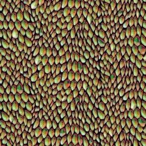 sparkle jeweltone metal dragon scales