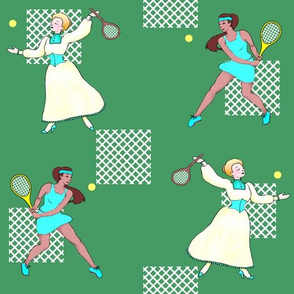 tennis then and now