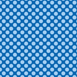 Spanish Dots - Blue