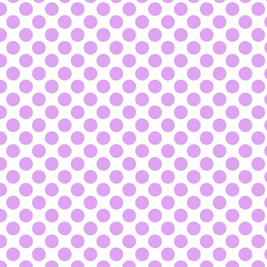 Spanish Dots - Orchid and White