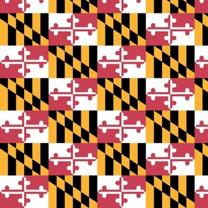 Maryland Flags - True Color