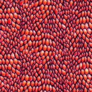 sparkle red enamel dragon scales