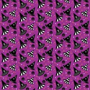 "Pumpkin Patch Hats - purple-Small 7/8"""