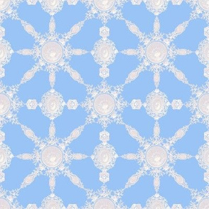 Lace Ceramique ~ Bright ~ Jasper Blue