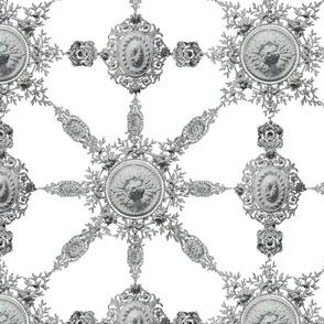 Lace Ceramique ~ White