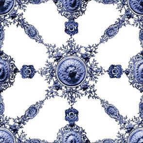 Lace Ceramique ~ Blue and White