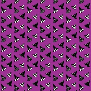 """Witch Hats - Purple-Small 2/3"""""""