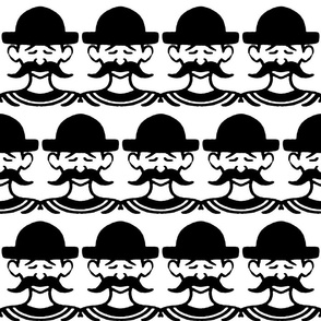 mustache frenchman