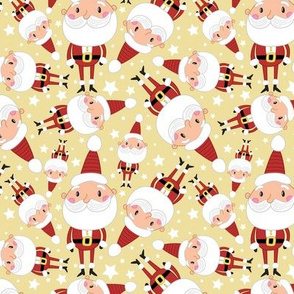Christmas Crew - Santa - Yellow - Medium