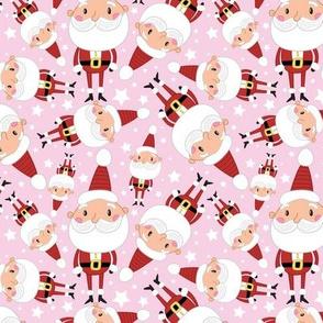 Christmas Crew - Santa - Pink - Medium