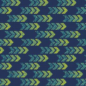 Pixel Arrows Blue