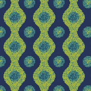 Pixel Pods Blue