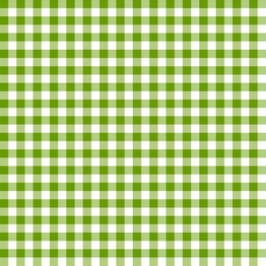green leaf gingham