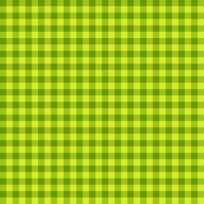 New Leaf gingham