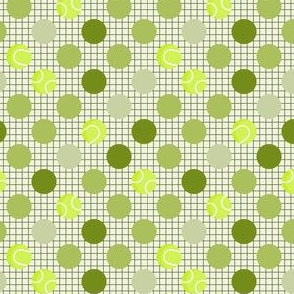 Tennis Ball Polka Dots
