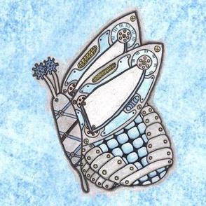 Steampunk Butterfly 0001