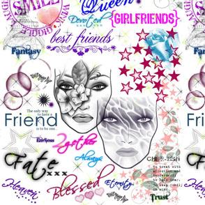 Friendsship Collage-ed
