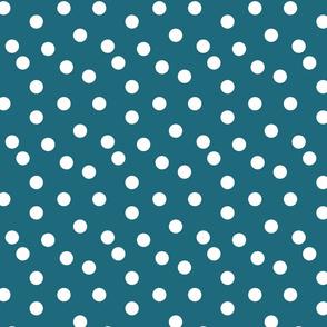 Polka Dot - Bondi Blue by Andrea Lauren