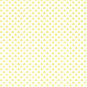 triangles lemon yellow