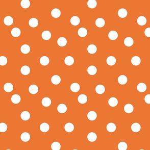 Polka Dots - Orange by Andrea Lauren