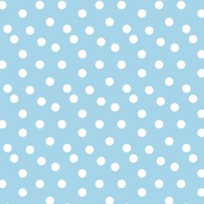 Polka Dots - Sky Blue by Andrea Lauren