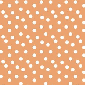 Polka Dots - Melon by Andrea Lauren