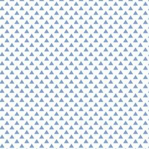 triangles cornflower blue
