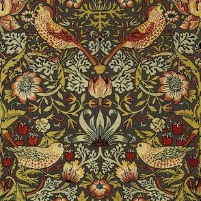 William Morris ~ Strawberry Thief ~ Autumn Linen