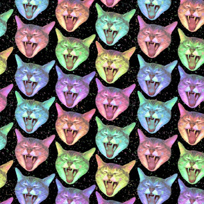 Laughing Cats (large)