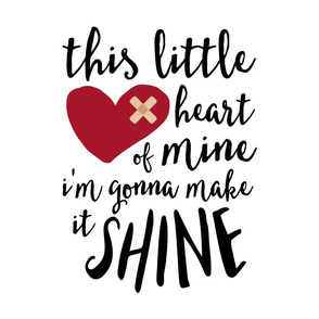 "18"" This little heart of mine || CHD"