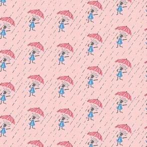 Feed Sack Girl-Pink-285