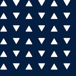 Triangles // navy