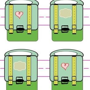 Backpacks Vintage Mod